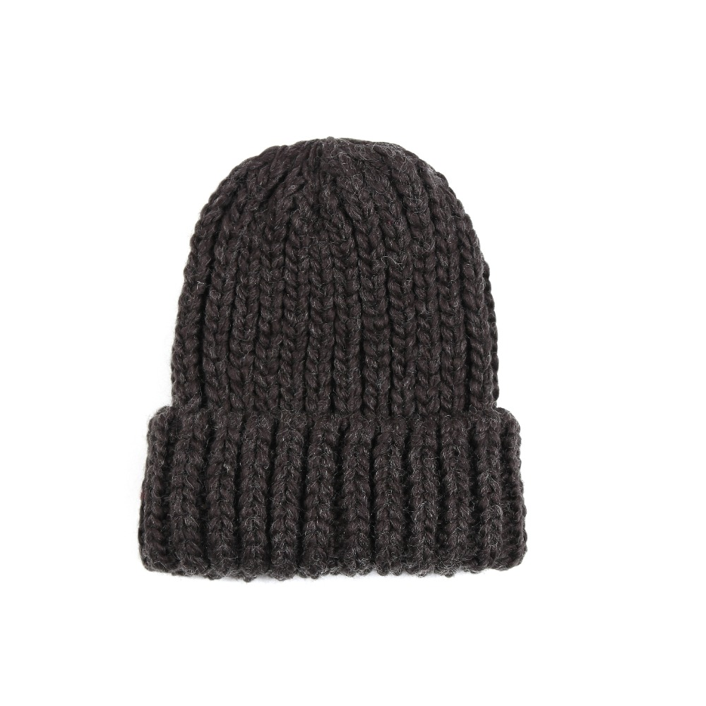 So Heavy knit Hat_GRAY